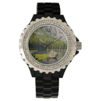 Stone At Madison River Wrist Watch