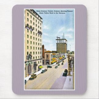 Stone Avenue, Tucson, Arizona Retro Road Trip Mouse Pad