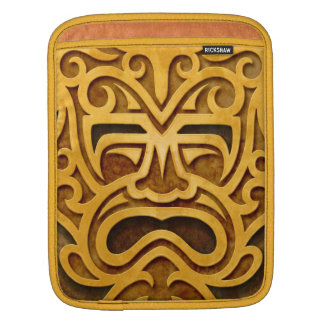 Stone Aztec Mask Sleeves For iPads