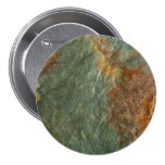 Stone Background - Slate Rock Customized Template Pinback Button