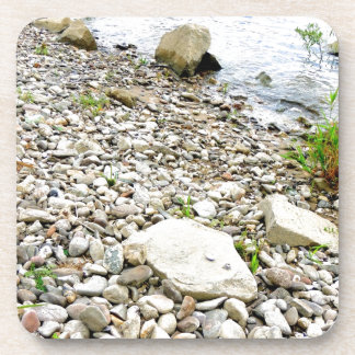 Stone beach coaster