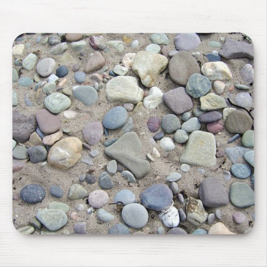 Stone Beach Computer Mouse Pad