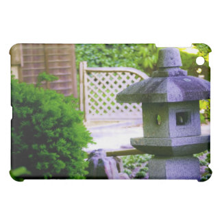 Stone Birdhouse iPad Mini Cover