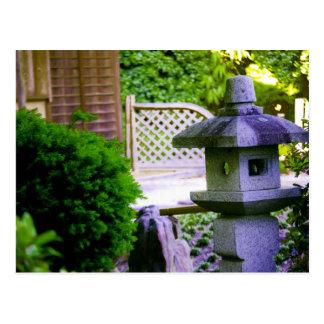 Stone Birdhouse Postcard