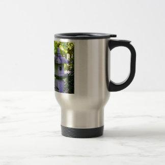 Stone Birdhouse Travel Mug