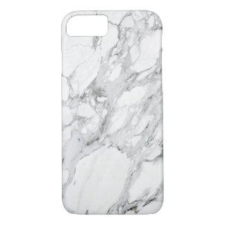 Stone Black White Grey Carrara Marble iPhone 8/7 Case