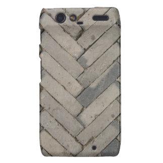 Stone Brick Pavers Motorola Droid RAZR Cases