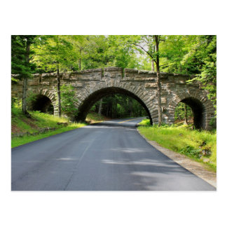 'Stone Bridge-Acadia Park' Postcard