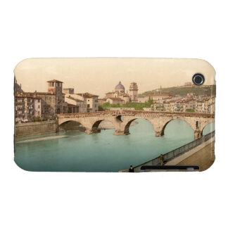Stone Bridge and San Giorgio, Verona, Italy Case-Mate iPhone 3 Cases