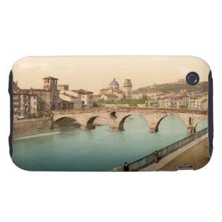 Stone Bridge and San Giorgio, Verona, Italy Tough iPhone 3 Case