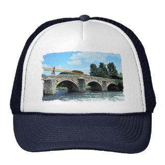 Stone Bridge Crossing River  Kildare Ireland Mesh Hats
