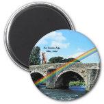 Stone Bridge Crossing River  Kildare Ireland Fridge Magnet