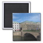 Stone Bridge In Goteberg Sweeden Magnets