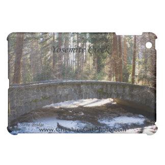 Stone Bridge Yosemite Creek California Products iPad Mini Cover