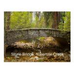 Stone Bridge Yosemite Creek November Products Postcard
