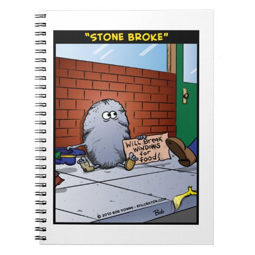 """Stone Broke"" Journals"