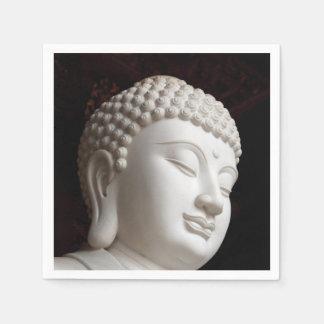 Stone Buddha Head Napkin