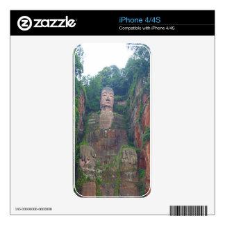 Stone Buddha iPhone 4S Decal