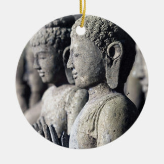 Stone Buddha statues Ceramic Ornament