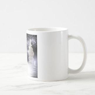 stone buildings coffee mug