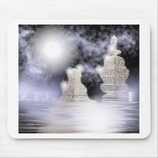 stone buildings mouse pad
