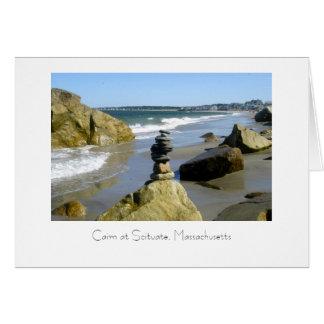 Stone Cairn Card
