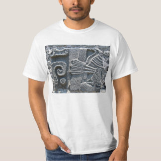 Stone carved wall t-shirt