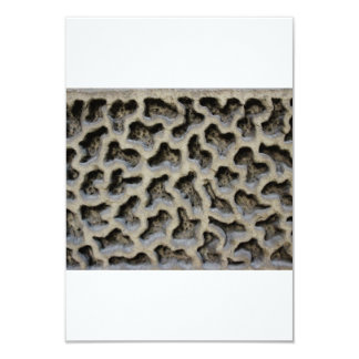 Stone Carving Pattern Card