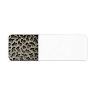 Stone Carving Pattern Label