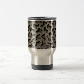 Stone Carving Pattern 15 Oz Stainless Steel Travel Mug