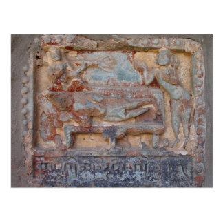 Stone Carving Postcard