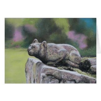 Stone Cat Card