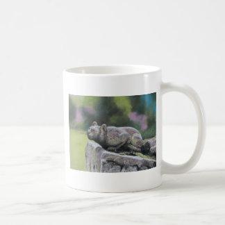 Stone Cat Coffee Mug