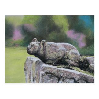 Stone Cat Postcard