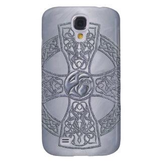Stone Celtic Cross 3g Samsung S4 Case