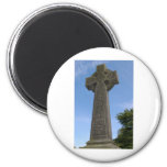 Stone celtic cross magnets