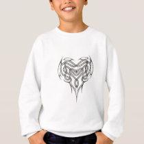 Stone Celtic Heart Knot Sweatshirt