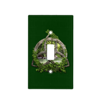 Stone Celtic Trinity Knot Light Switch Cover