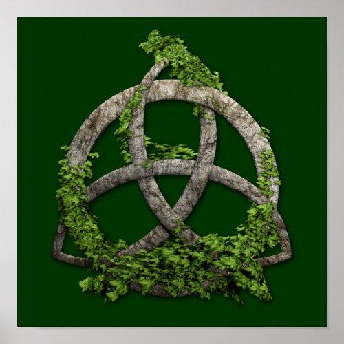 Stone Celtic Trinity Knot