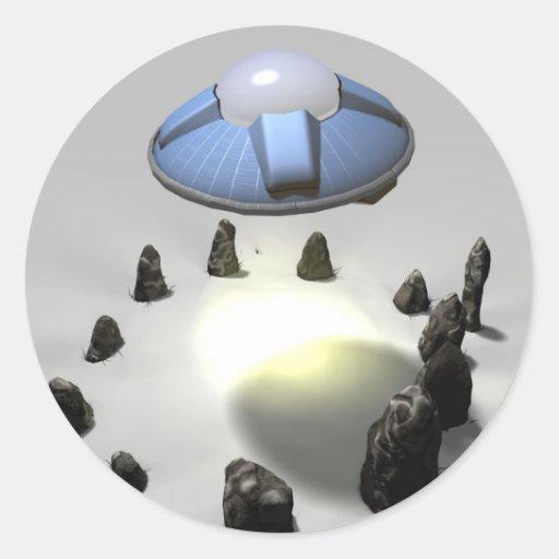 Stone Circle Visitors Sticker