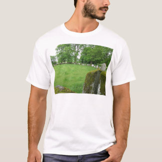 Stone Circles Grange Ireland Trees Moss Rocks T-Shirt