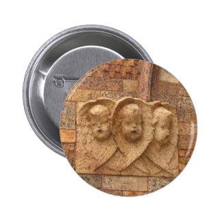 Stone Citizens three granite infants Button