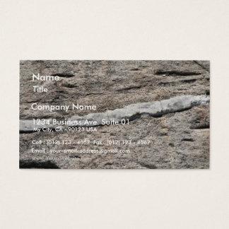 Stone Closeup Business Card