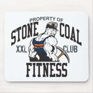 STONE COAL FITNESS MOUSE PAD