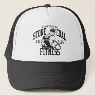 STONE COAL FITNESS TRUCKER HAT