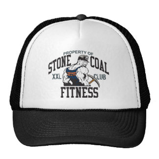 STONE COAL FITNESS TRUCKER HAT
