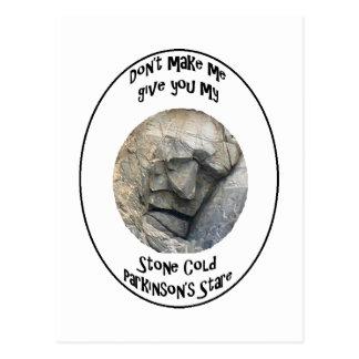 Stone Cold Parkinson's Postcard
