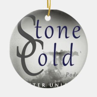 Stone Cold Podcast Ceramic Ornament