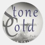 Stone Cold Podcast Classic Round Sticker