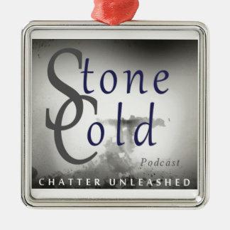 Stone Cold Podcast Metal Ornament